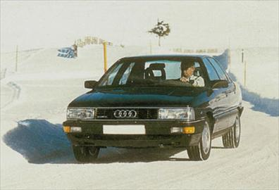 Audi 200 Turbo Quatoo - 1985