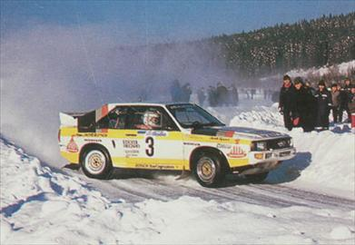 Audi Quattro Sport Group B - 1984