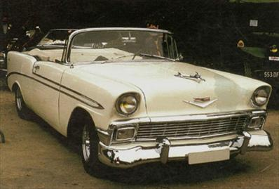 Chevrolet Bel Air Convertible - 1956